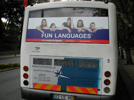 fun languages autocarro stuv viseu 2