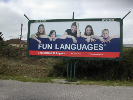 fun languages outdoor 8x3m viseu 2